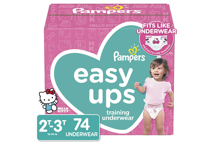 Pampers Easy Ups Pull On Disposable