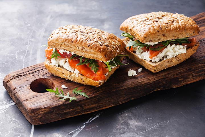 Paneer (Cottage Cheese) Sandwich