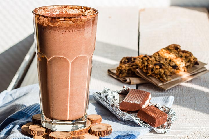 Peanut Butter And Chocolate Shake