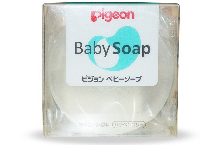 Pigeon Transparent Baby Soap Hypoallergenic