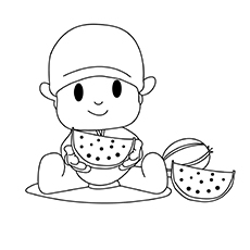 Pocoyo-Eating-Watermelon-16