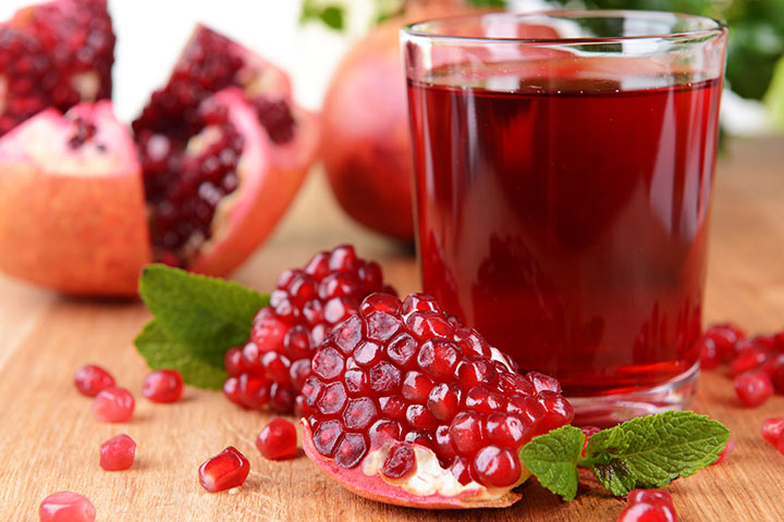 Pomegranate & Pomegranate Juice