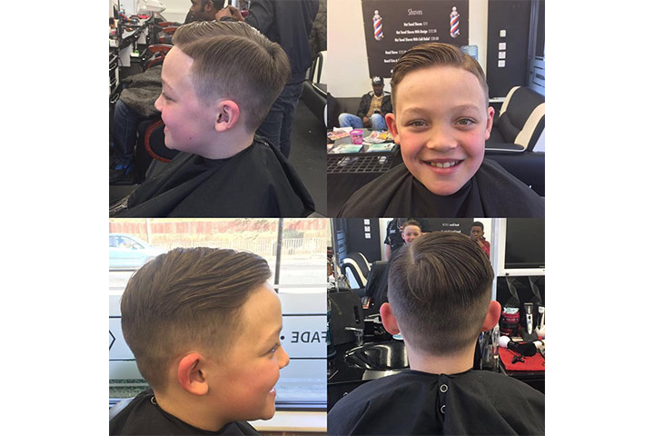 Side Parting - good hairstyles for boys Pictures