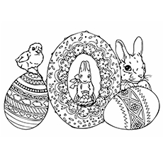 Coloring Sheet of Jan Brett Animals Santa