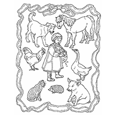 Jan Brett The Hat Coloring Pages - Coloring Home | 230x230