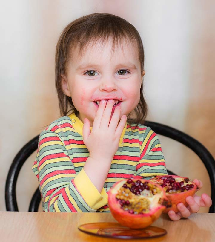Pomegranate For Young Kids Images