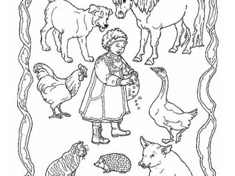 Top 10 'Jan Brett' Coloring Pages For Toddlers