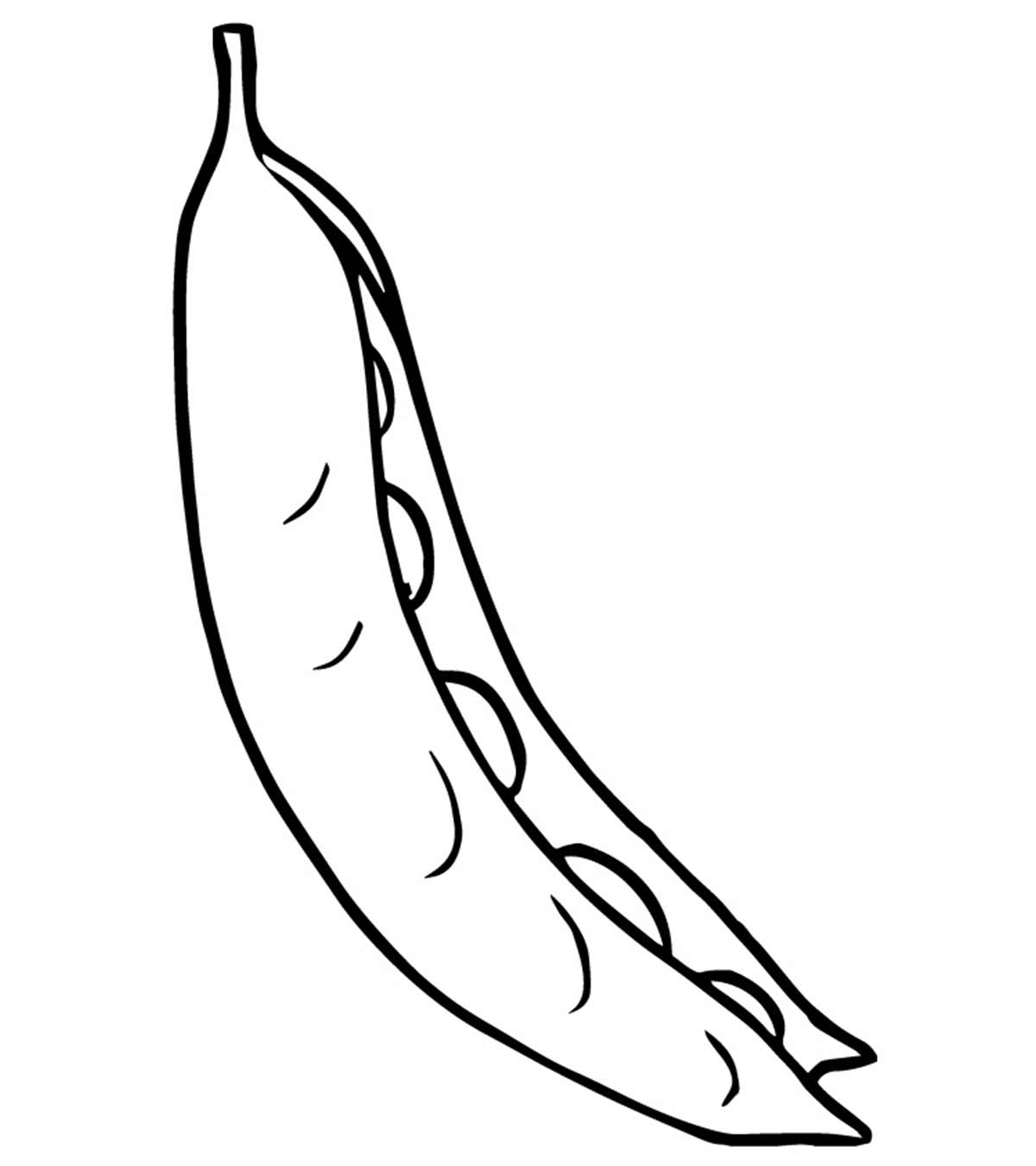 Top 10 Peas Coloring Pages For Toddlers