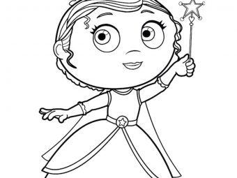 Top 10 'Super Why' Coloring Pages For Your Toddler