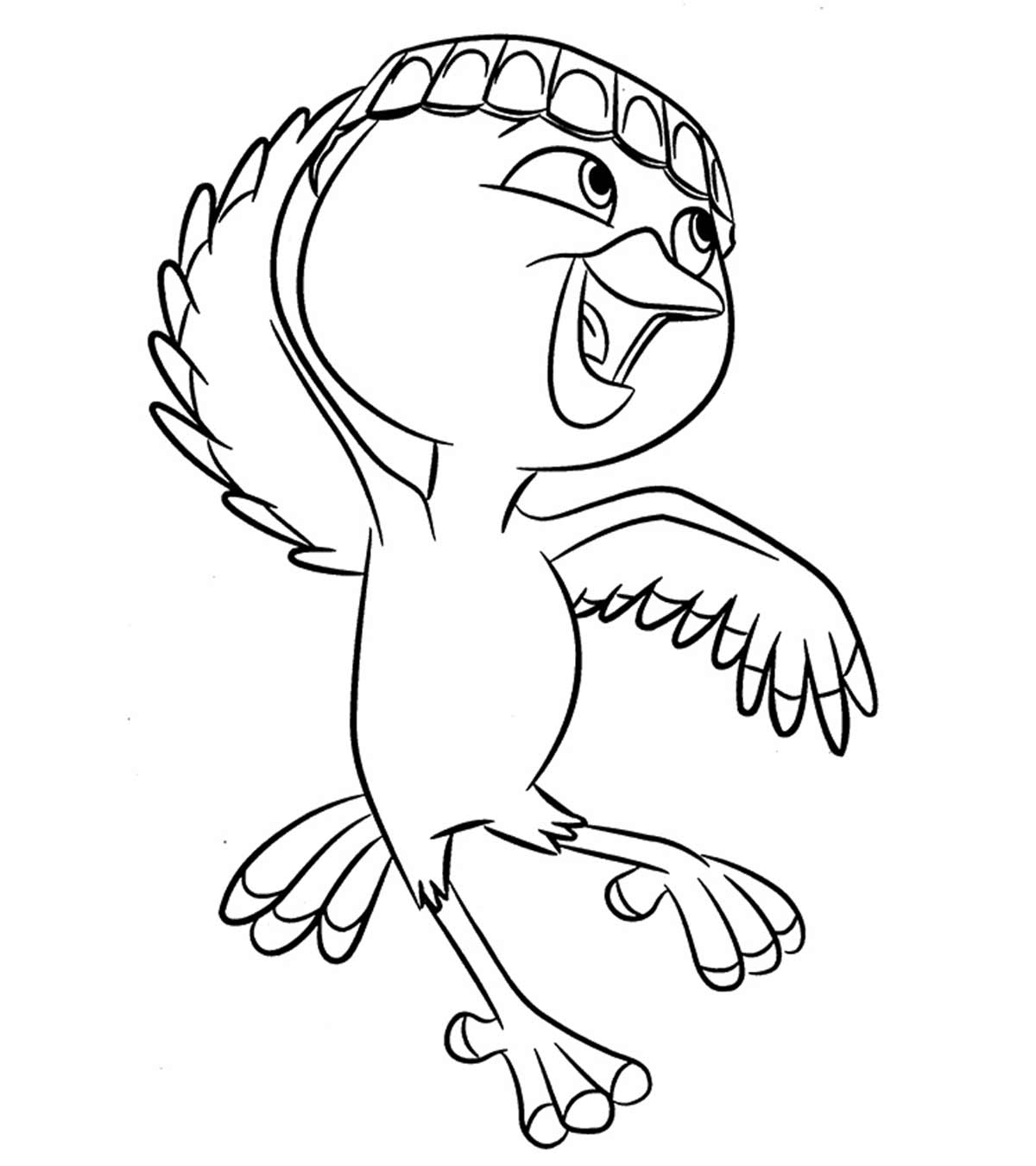 free rio the movie coloring pages | Disney Coloring Pages - MomJunction