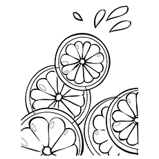 Lemon Coloring Page - Verna Lemon