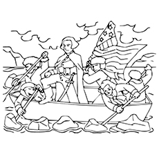 10 Best George Washington Coloring Pages For Toddlers