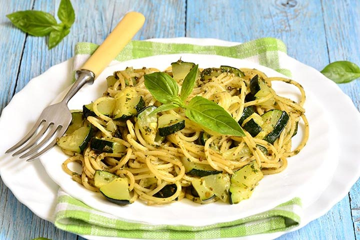 Zucchini-Ribbon-Pasta