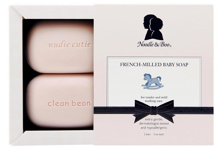 10. Noodle U0026 Boo U2013 French Milled Baby Soap: