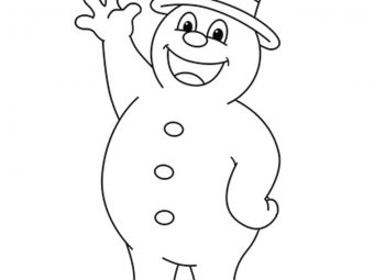10 Cute 'Frosty The Snowman' Coloring Pages For Toddlers
