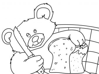 10 Yummy Bread Coloring Pages For Your Little One