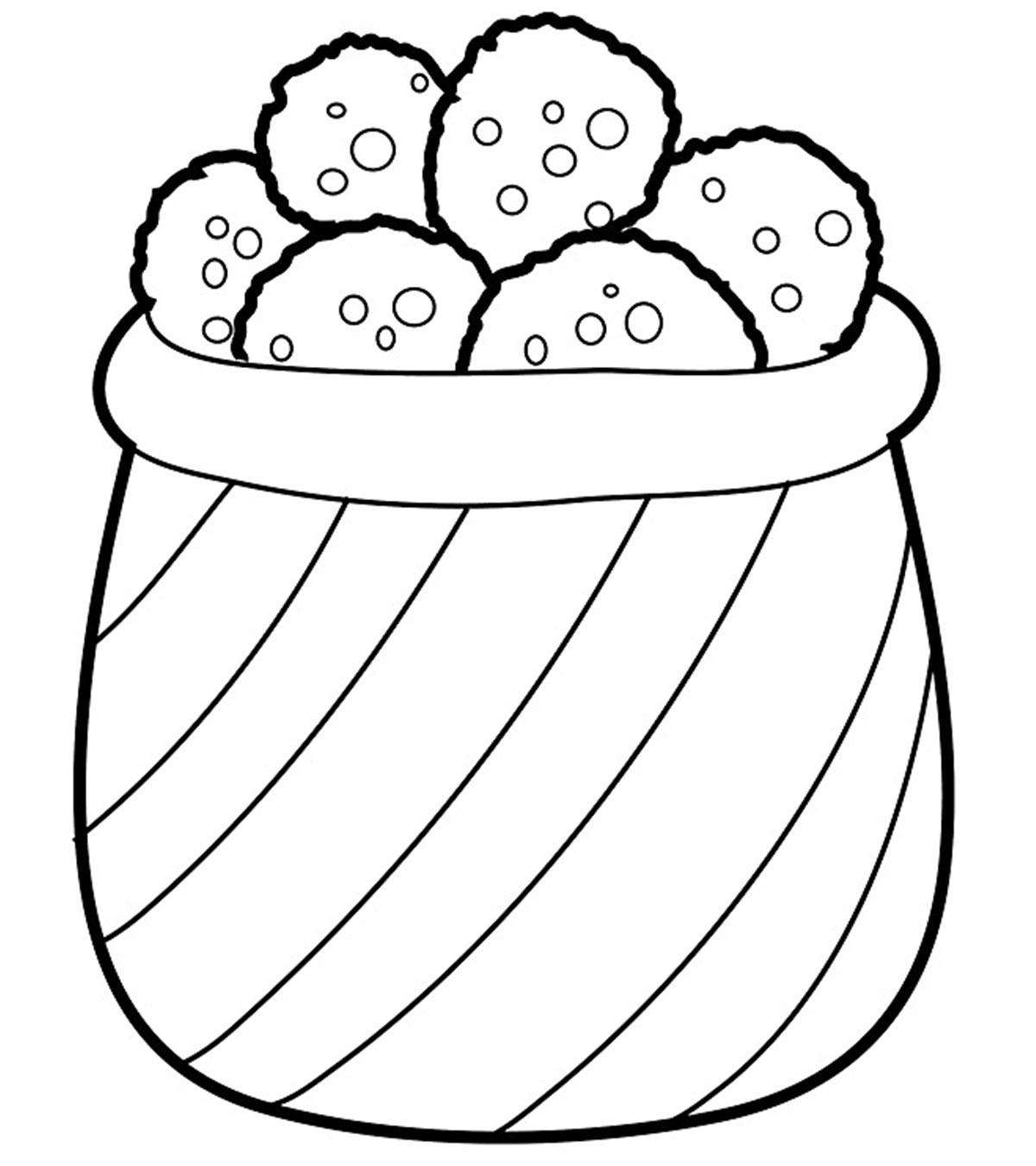 Yummy Cookies Coloring Pages For Your Little Ones