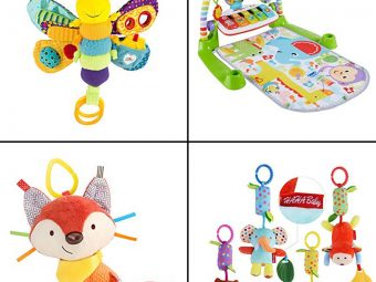 13 Best Toys For One-Month-Old Baby In 2020
