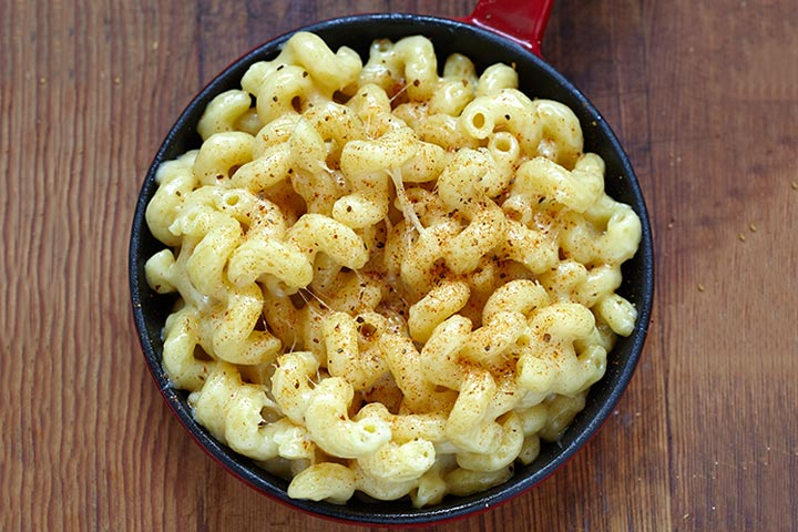 Mac And Cheese For Toddlers  - 5 Minute Mac And Cheese