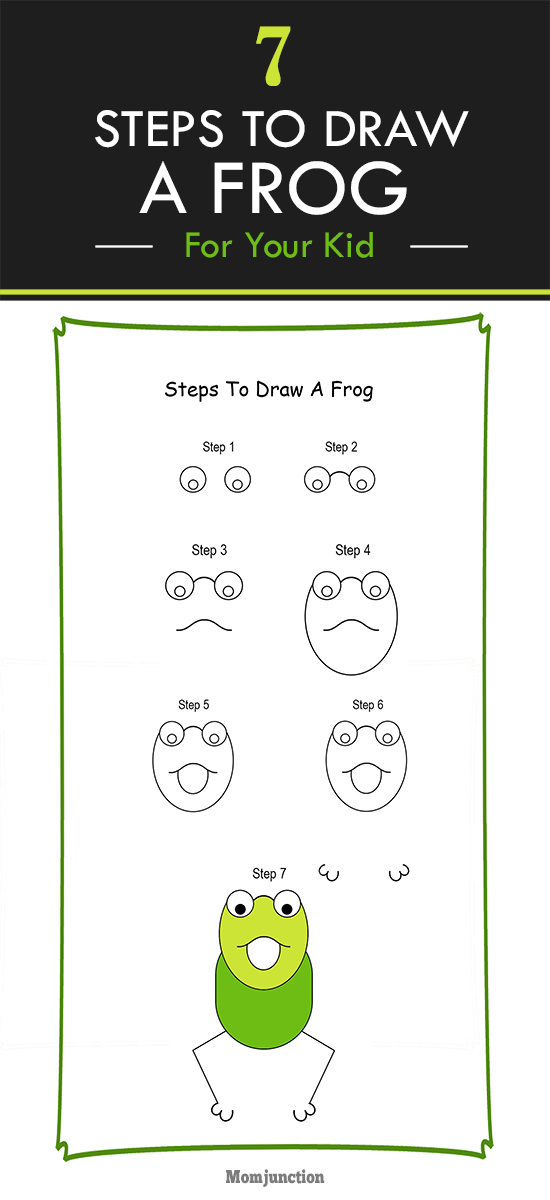 How To Draw A Frog For Kids - Step-by-step Tutorial