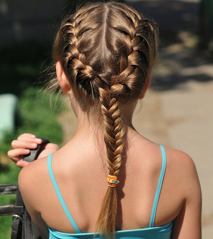 Quick & Easy Hairstyles For Kids With Long Hair