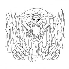 A Ferocious Panther