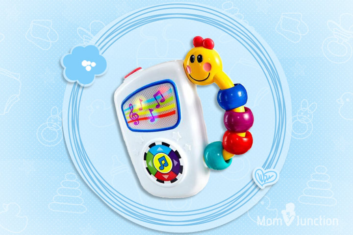 Toys For 1 Month Old Baby - Baby Einstein Take Along Tunes Musical Toy