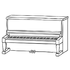 piano coloring pages 10 Beautiful Piano Coloring Pages For Your Little One piano coloring pages