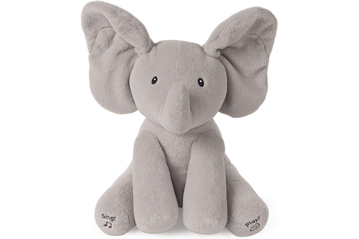 Baby GundAnimated Flappy the Elephant Stuffed Animal Plush 83985