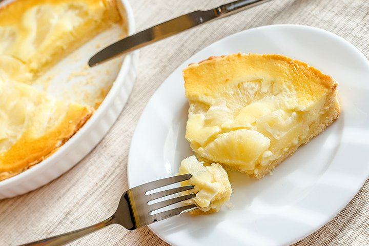 Pineapple Recipes For Kids - Baked Pineapple Casserole