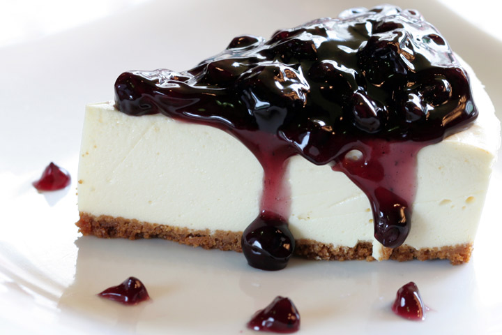 Cheesecake During Pregnancy - Blueberry Cheesecake