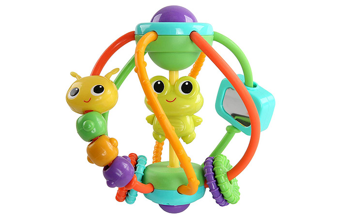 Bright Starts Clack and Slide Activity Ball 4.4932