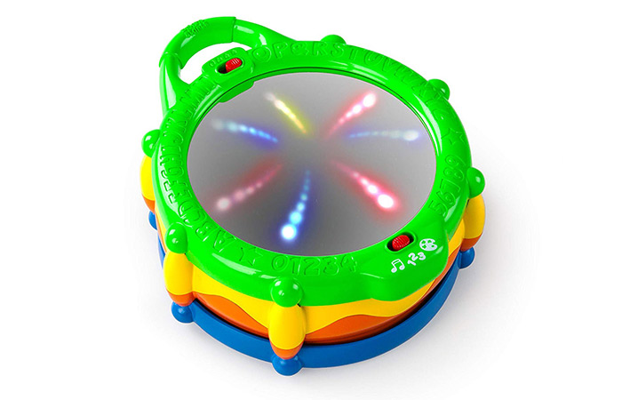 Bright Starts Light & Learn Drum with Melodies 5413