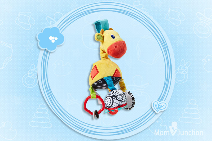Toys For 2 Month Old - Bright Starts Start Your Senses Sensory Giraffe