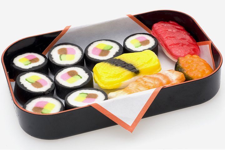 Sushi Recipes For Kids - Candy Sushi