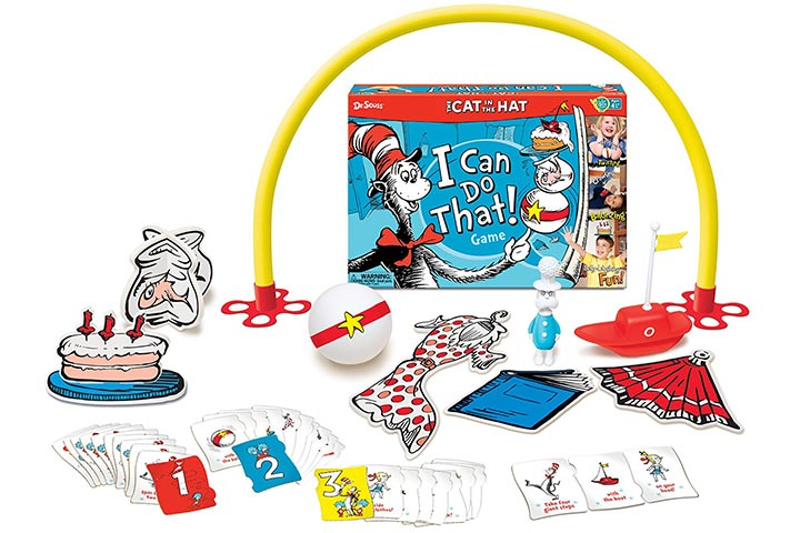 Cat In The Hat, I Can Do That!