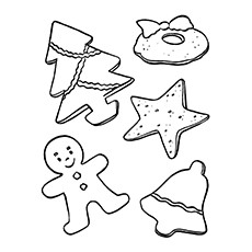 cookie coloring pages christmas tea and cookies coloring page coloring pages