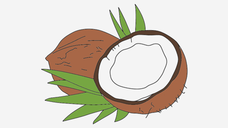 Coloring Pages Daily Activities : Fruits and vegetables coloring pages momjunction