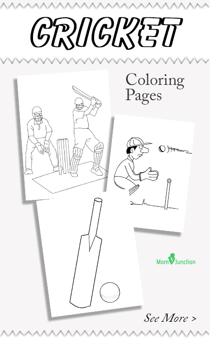 top 10 cricket coloring pages for your toddler