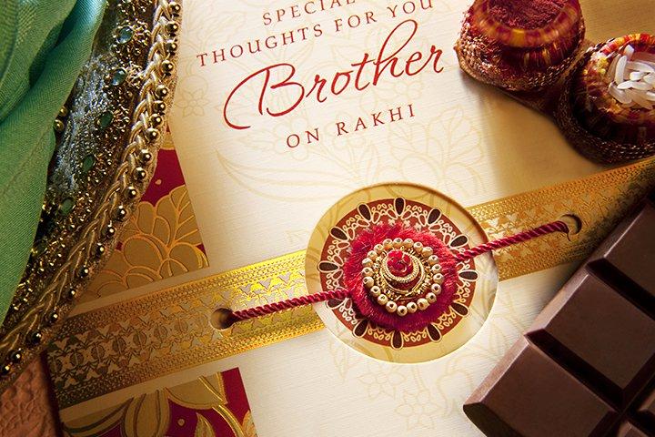 Raksha Bandhan For Kids - DIY Greeting Card