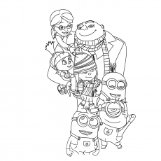 Despicable Me Image to Color