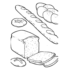 bread coloring pages 10 Yummy Bread Coloring Pages For Your Little One bread coloring pages