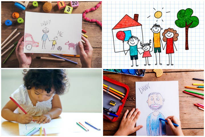 Creative drawing ideas for kids Simple drawing ideas for kids
