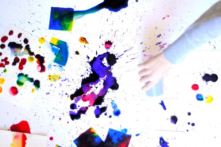 Painting For Kids - Drippy Droopy Watercolor Art