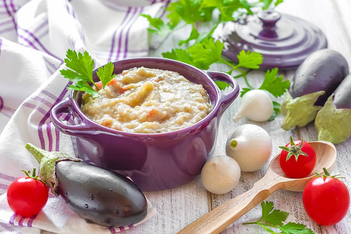 Eggplant Baby Food Recipes - Eggplant Puree