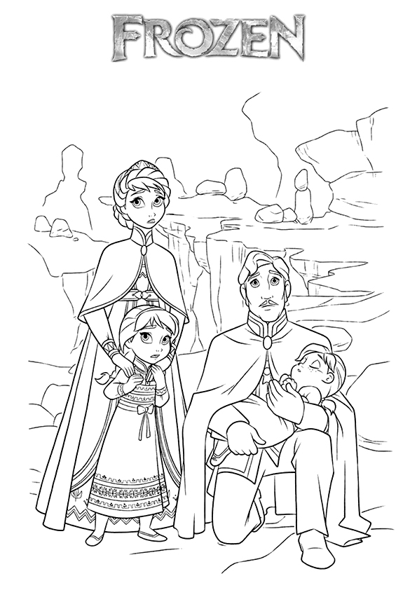 Elsa-With-Her-Family