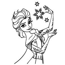 50 Beautiful Frozen Coloring Pages For Your Little Princess