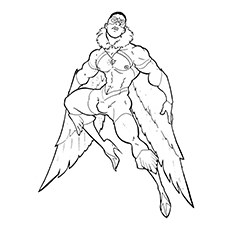 marvel falcon coloring pages - photo#32