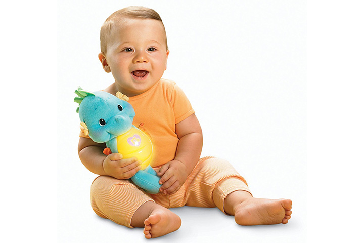 7. Fisher-Price Soothe and Glow Seahorse