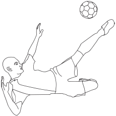 Foot-Ball- coloring pages